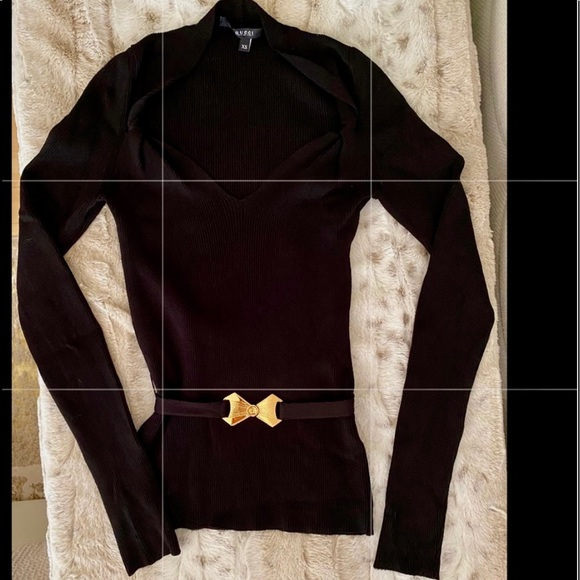 Gucci ribbed long sleeve